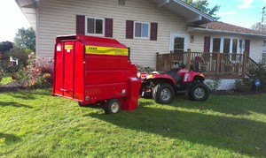 leaf removal equipment
